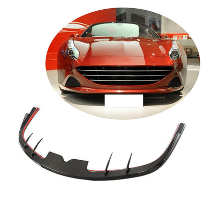 For Ferrari 458 Speciale Coupe 14-15 Carbon Fiber Front Bumper Lip Chin Spoiler Body Kit