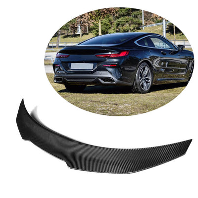 For BMW 8 Series G15 F92 M8 Coupe 18-21 Carbon Fiber Rear Trunk Spoiler Boot Wing Lip