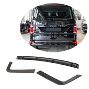 For Volkswagen VW Multivan Transporter T6 15-19 Carbon Fiber Rear Bumper Diffuser Lip