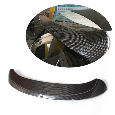 For Volkswagen VW Golf 6 MK6 Base Hatchback 10-13 Carbon Fiber Rear Roof Spoiler Window Wing Lip