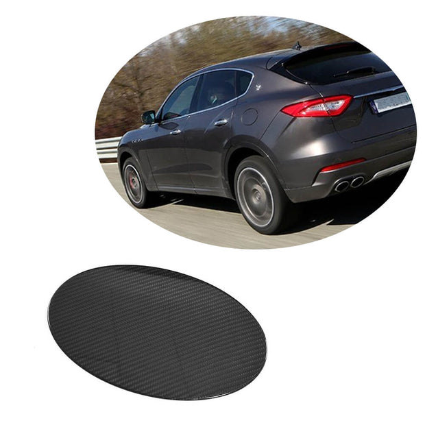 For Maserati Levante Sport Utility 16-20 Carbon Fiber Tank Cup Cover Body Kit