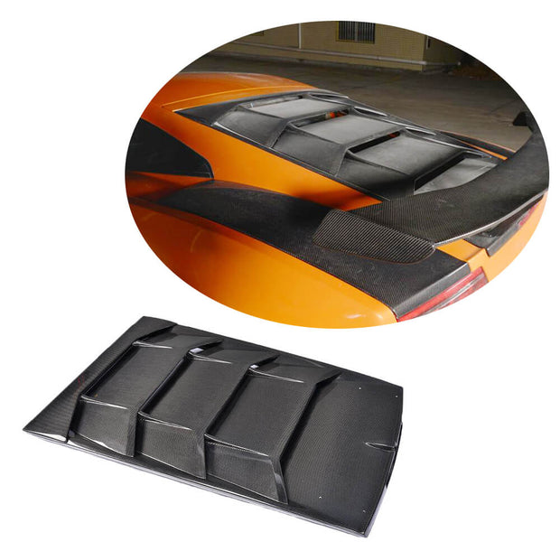 For Lamborghini Gallardo 09-14 Carbon Fiber Rear Top Cover Body Kit
