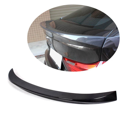 For BMW 5 Series F07 GT 14-17 Carbon Fiber Rear Trunk Spoiler Boot Wing Lip