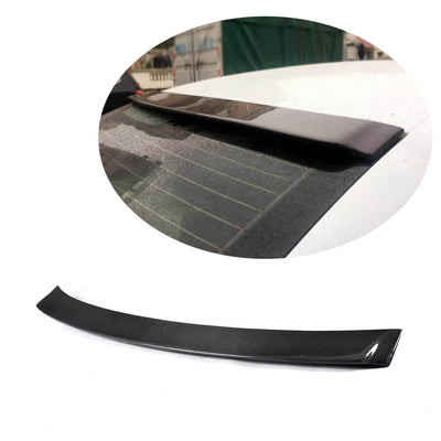 For Audi A3 8V Base Sedan 14-20 Carbon Fiber Rear Roof Spoiler Window Wing Lip