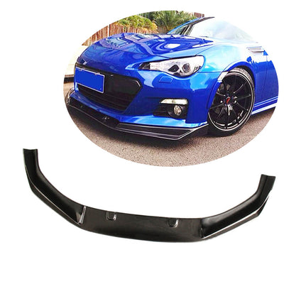 For Subaru BRZ Coupe 13-16 Carbon Fiber Front Bumper Lip Chin Spoiler Body Kit