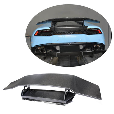 For Lamborghini Huracan 14-18 Carbon Fiber Rear Trunk Spoiler Boot Wing Lip