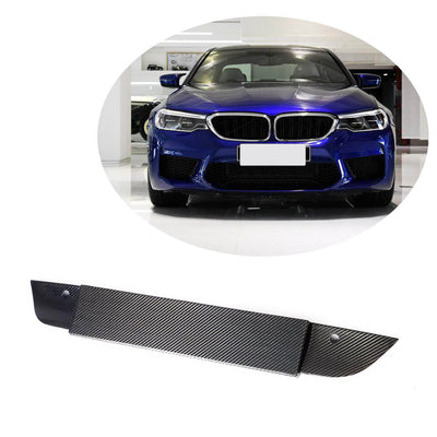 For BMW 5 Series F90 M5 Sedan 18-20 Carbon Fiber License Plate Frame