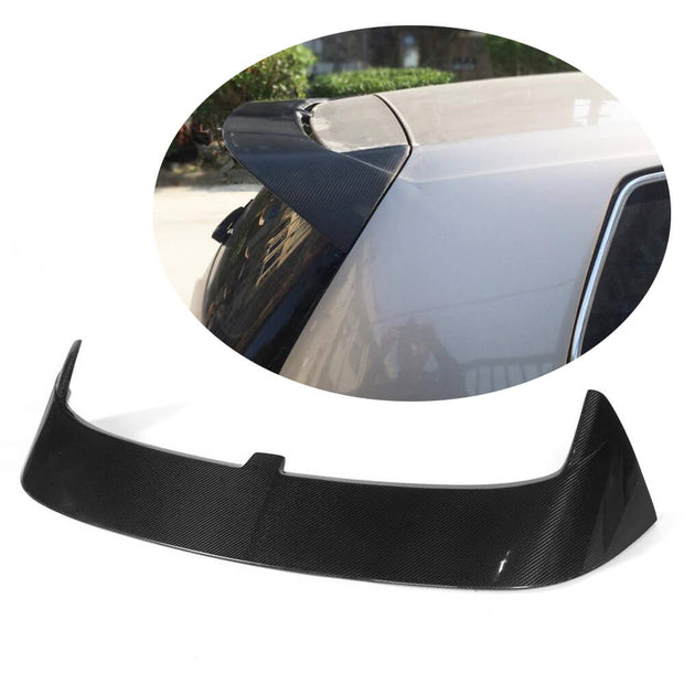 For Volkswagen VW Golf 7 7.5 MK7 MK7.5 Standard R-Line Hatchback 14-19 Carbon Fiber Rear Roof Spoiler Window Wing Lip