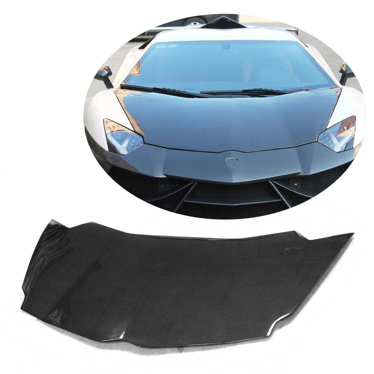 For Lamborghini Aventador LP700-4 11-16 Carbon Fiber Engine Bonnet Hood Cover