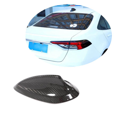 Universal Car Real Dry Carbon Fiber Car Shark Fin Roof Antenna