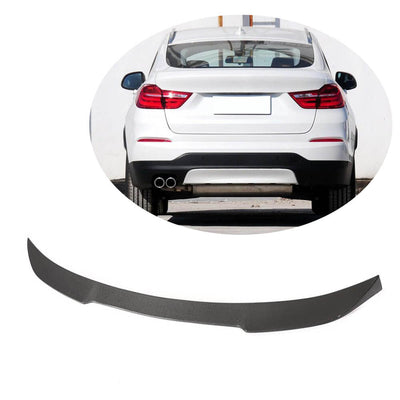 For BMW X4 F26 Sport Utility 14-18 Carbon Fiber Rear Trunk Spoiler Boot Wing Lip