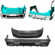 For Mercedes Benz W463 Wagon 19UP Dry Carbon Fiber Front Rear Bumper Wide Body Kit