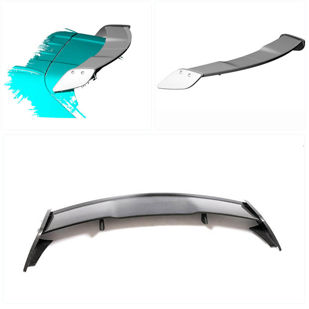 For Mercedes Benz X156 Sport Utility 14-20 Carbon Fiber Rear Roof Spoiler Window Wing Lip