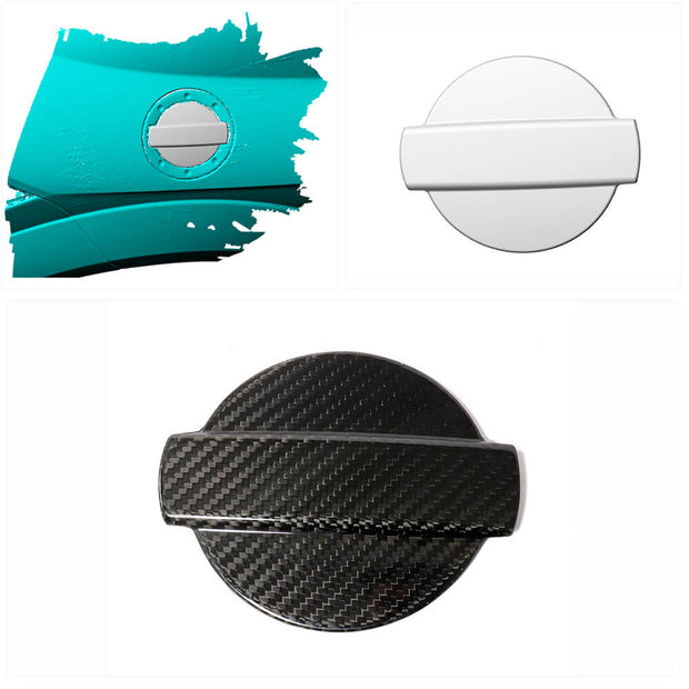 For Audi TT TTS Sline TTRS 2-Door 15-19 Carbon Fiber Oil Tank Filler Water Tank Lid Cap Cover