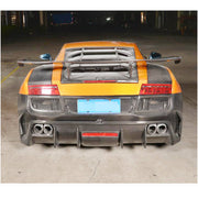 For Lamborghini Gallardo 09-14 Carbon Fiber Rear Trunk Spoiler Boot Wing Lip