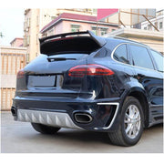 For Porsche Cayenne 958 Sport Utility 15-18 Carbon Fiber Rear Roof Spoiler Window Wing Lip