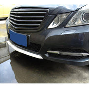 For Mercedes Benz W212 Base Sedan 10-13 Carbon Fiber Front Bumper Lip Spoiler Trim