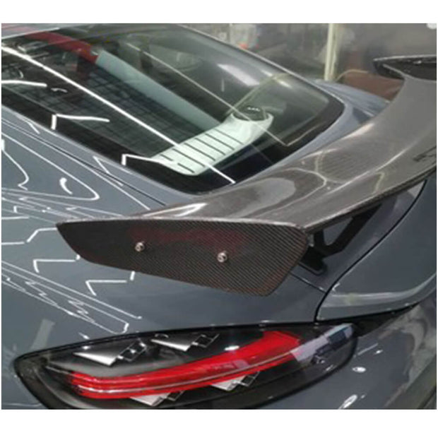 For Porsche 718 981 Cayman GT4 Coupe 15-19 Carbon Fiber Rear Trunk Spoiler Boot Wing Lip