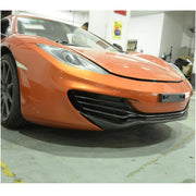 For McLaren MP4-12C Base 2-Door 11-14 Carbon Fiber Front Bumper Lip Chin Spoiler Body Kit
