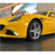 For Ferrari California T Base Convertible 15-18 Carbon Fiber Side Air Fender Wing Vent Trims