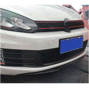 For Volkswagen VW Golf 6 MK6 GTI Hatchback 10-13 Carbon Fiber Front Bumper Lip Spoiler