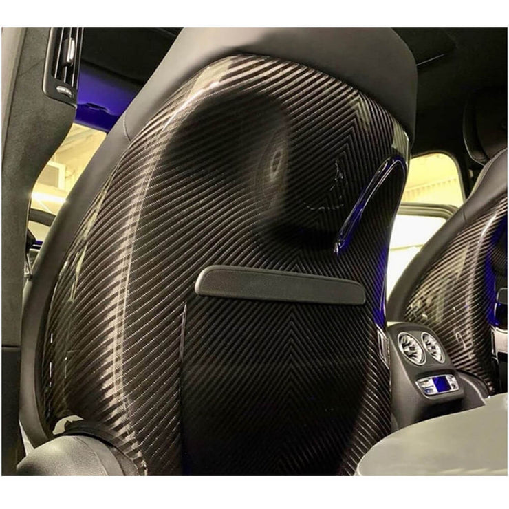 For Mercedes Benz W463 Wagon 19UP Carbon Fiber Seat Back Cover