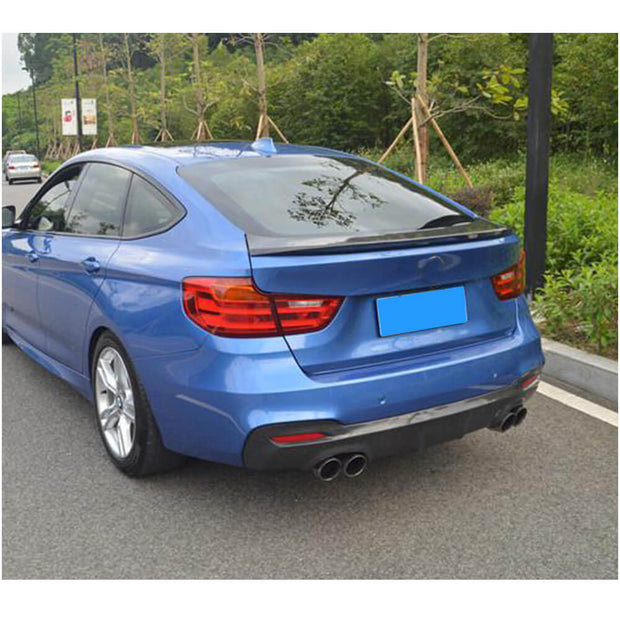 For BMW 3 Series F34 M Sport GT Gran Turismo 14-18 Carbon Fiber Rear Bumper Diffuser Body Kit