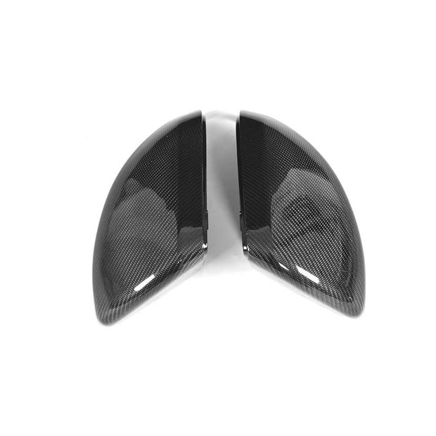 For Mercedes Benz W447 Vito 16-19 Replacement Carbon Fiber Mirror Cover Caps LHD Pair
