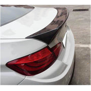 For BMW 5 Series F10 Base/M Sport M5 Sedan 11-18 Carbon Fiber Rear Trunk Spoiler Boot Wing Lip