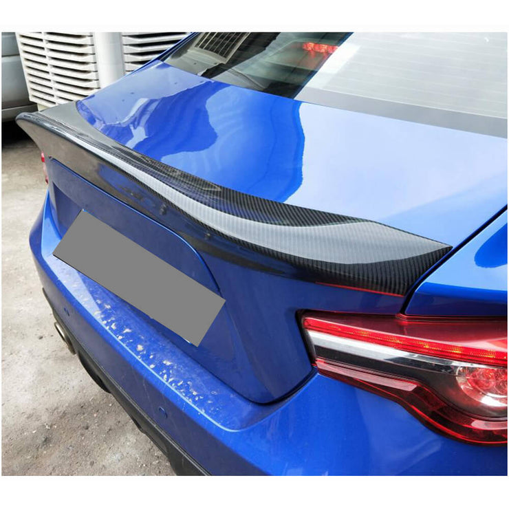 For Subaru BRZ Toyota GT86 FT86 Scion FR-S Carbon Fiber Rear Trunk Spoiler Boot Wing Lip