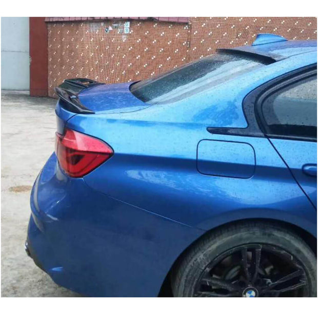 For BMW 3 Series F30 12-18 F80 M3 14-20 Sedan Carbon Fiber Rear Trunk Spoiler Boot Wing Lip
