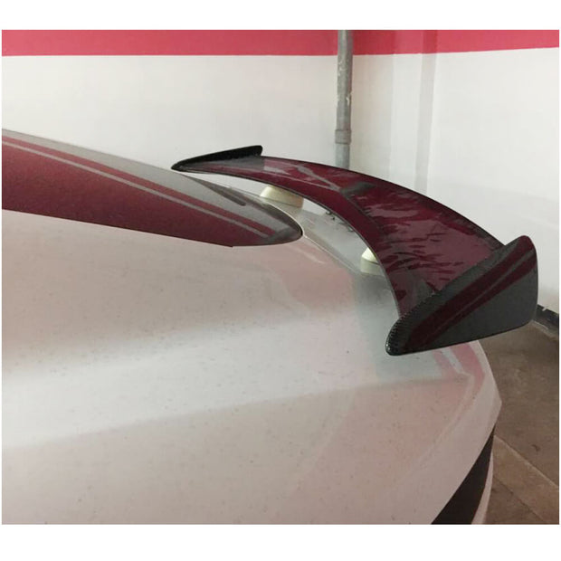 For Jaguar F-TYPE Coupe 14-19 Carbon Fiber Rear Trunk Spoiler Boot Wing Lip