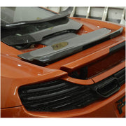 For McLaren MP4-12C Base 2-Door 11-14 Carbon Fiber Rear Trunk Spoiler Boot Wing Lip