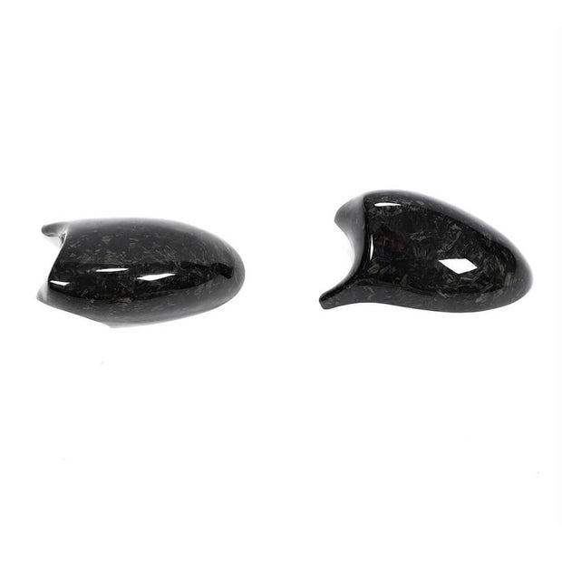 For BMW 3 Series E90 E91 05-07 E92 E93 06-09 Carbon Fiber Side Rearview Mirror Cover Caps LHD Pair