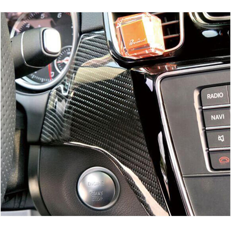 For Mercedes Benz C292 Sport Utility 15-19 Carbon Fiber Car Dashboard Trims Interior Body Kit