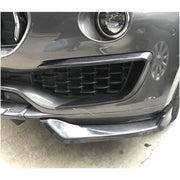For Maserati Levante Sport Utility 16-19  Carbon Fiber Front Bumper Splitter Cupwing Winglets Vent Flaps
