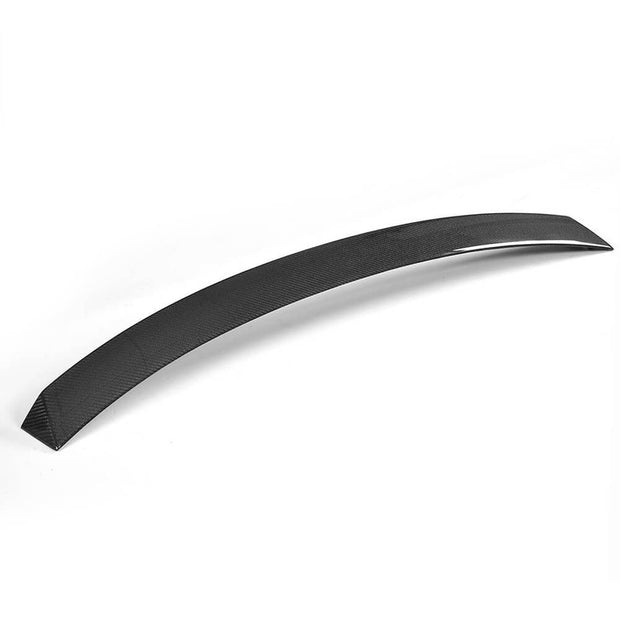 For Mercedes Benz C238 Coupe 17-21 Carbon Fiber Rear Roof Spoiler Window Wing Lip