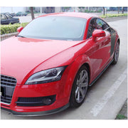 For Audi TT MK2 8J 2-Door 08-10 Carbon Fiber Side Skirts Door Rocker Panels Extension Lip