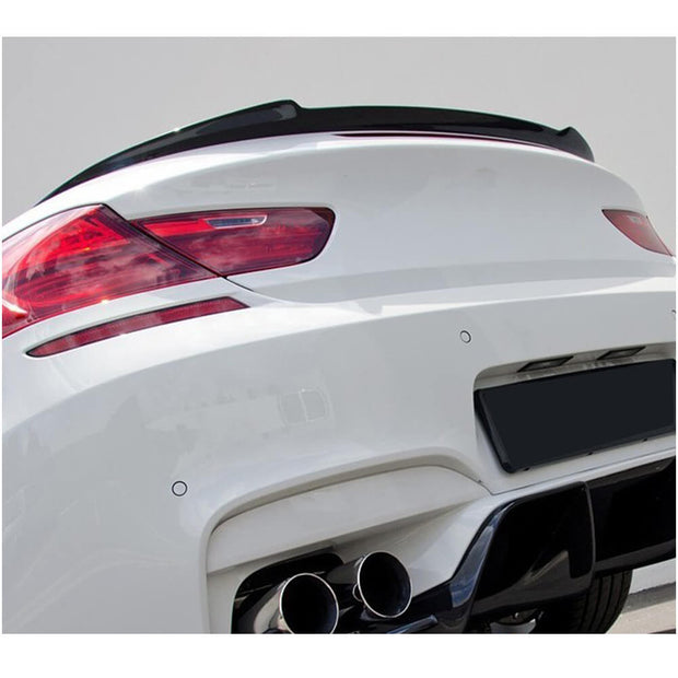 For BMW 6 Series F12 Base/M Sport M6 Convertible 13-18 Carbon Fiber Rear Trunk Spoiler Boot Wing Lip