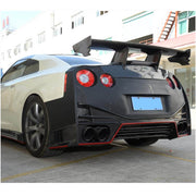 For Nissan GTR Coupe 09-15 Carbon Fiber Rear Bumper Diffuser Body Kit
