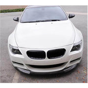 For BMW 6 Series E63 E64 M6 2-Door 06-10 Carbon Fiber Front Bumper Lip Chin Spoiler Body Kit
