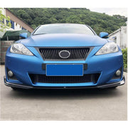 For Lexus IS250 IS300 Base Sedan 11-13 Carbon Fiber Front Bumper Lip Chin Spoiler Body Kit