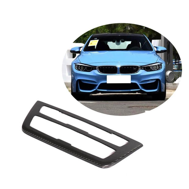 For BMW F80 M3 F82 F83 M4 2-Door 4-Door 14-19 Carbon Fiber Interior Center Dashboard Panel Trim