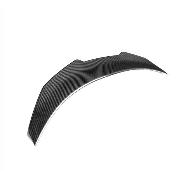 For BMW 8 Series G14 F91 M8 Convertible 18-21 Carbon Fiber Rear Trunk Spoiler Boot Wing Lip