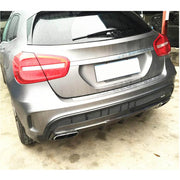 For Mercedes Benz X156 GLA45 AMG Sport Utiltiy 15-16 Carbon Fiber Rear Bumper Diffuser Body Kit