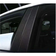 For Porsche Cayenne 958 Sport Utility 15-18 Carbon Fiber B Pillar Side Window Cover Trims
