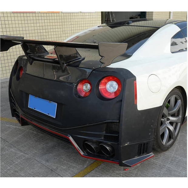 For Nissan GTR Coupe 09-15 Pure Carbon Fiber Rear Trunk Cover
