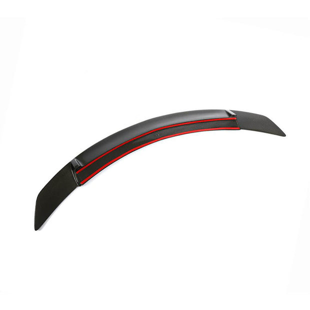 For Mercedes Benz W204 Sedan 07-14 Carbon Fiber Rear Trunk Spoiler Boot Wing Lip