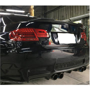 For BMW 3 Series E92 M3 Coupe 06-13 Carbon Fiber Rear Trunk Spoiler Boot Wing Lip