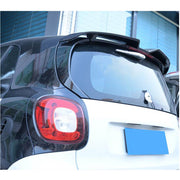 For Mercedes Benz Smart Fortwo 16-19 Carbon Fiber Rear Roof Spoiler Window Wing Lip